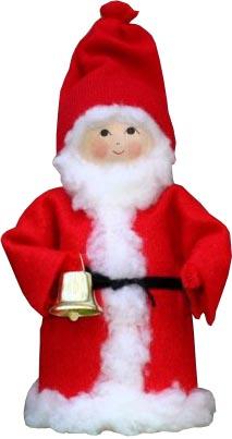 Tomte, Jultomte med klocka
