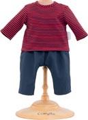 Corolle Dockkläder 36 Striped T-shirt & Pants