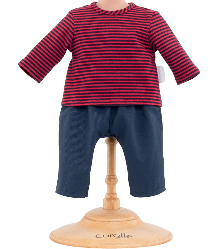 Corolle Dockkläder 30 Striped T-shirt & Pants