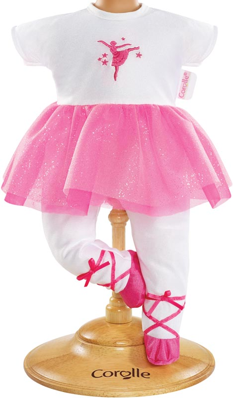 Corolle dockkläder 30 cm Ballerina Fuschia Suit