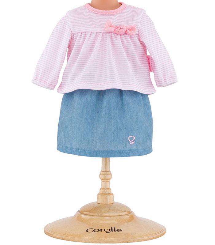 Corolle Dockkläder 36 Top & Skirt