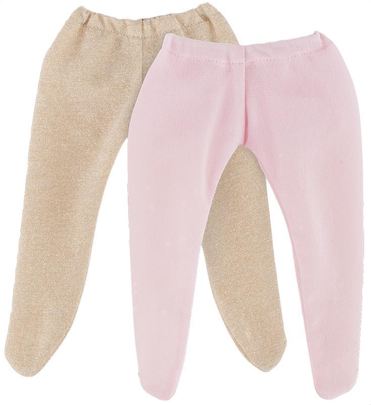 Corolle Dockkläder 36M Tights 2-p Golden & Pink