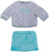 Corolle Dockkläder 36M 1979 Sweater & Skirt