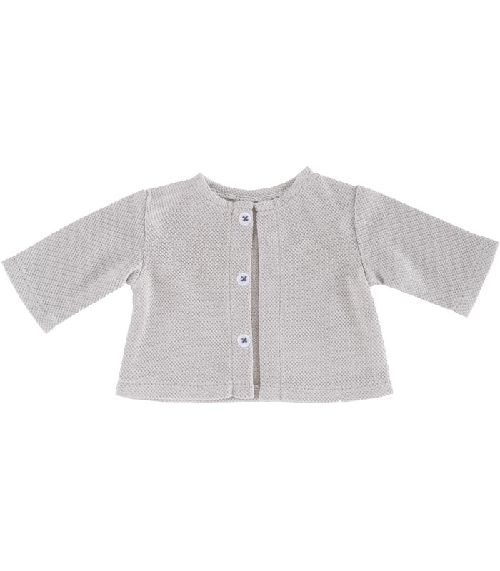 Dockkläder 36M Cardigan Light Grey