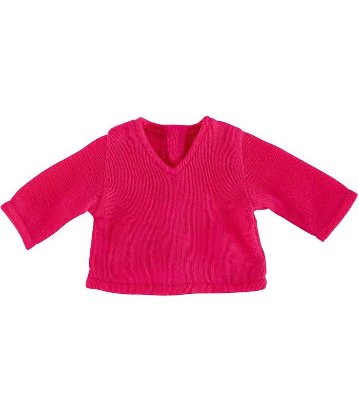 Dockkläder 36M V Neck Pullover Fuchsia