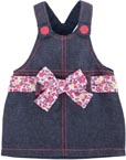 Dockkläder 36M Overalls Denim Dress