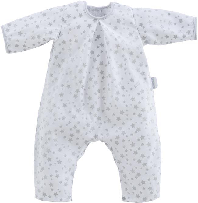 Dockkläder 52 White stars pyjamas