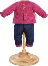 Dockkläder 30 cm Grenadine blouse