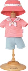 Corolle Dockkläder 36M Sunny days shorts set