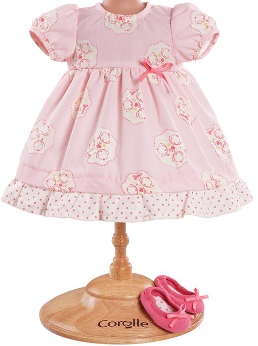 Corolle Dockkläder 42 Pink dress & shoes