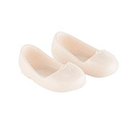 Corolle Dockskor Ballet flat shoes Ivory