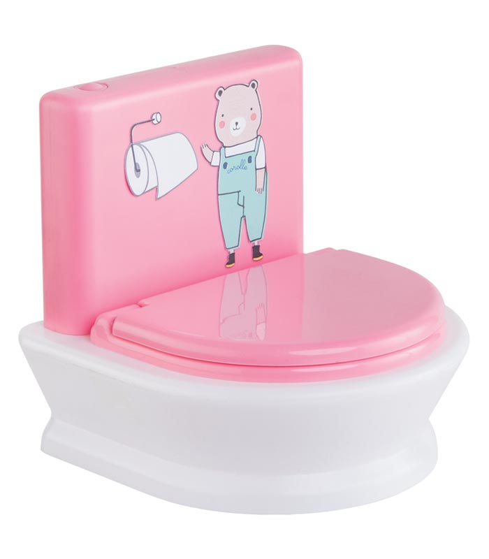 Corolle Docktillbehör Interaktiv Toalett docka
