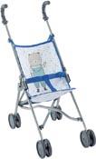 Corolle Dockvagn Sulky blå