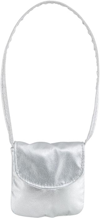 Dockaccessoar väska Silver shoulder bag