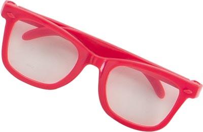 Dockaccessoar Glasögon rosa