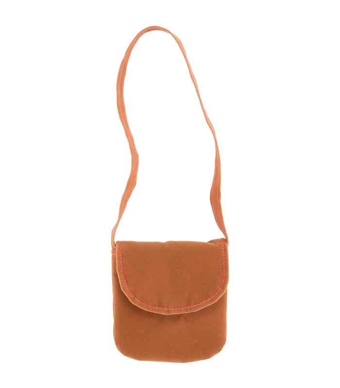 Dockaccessoar väska Messenger bag brown