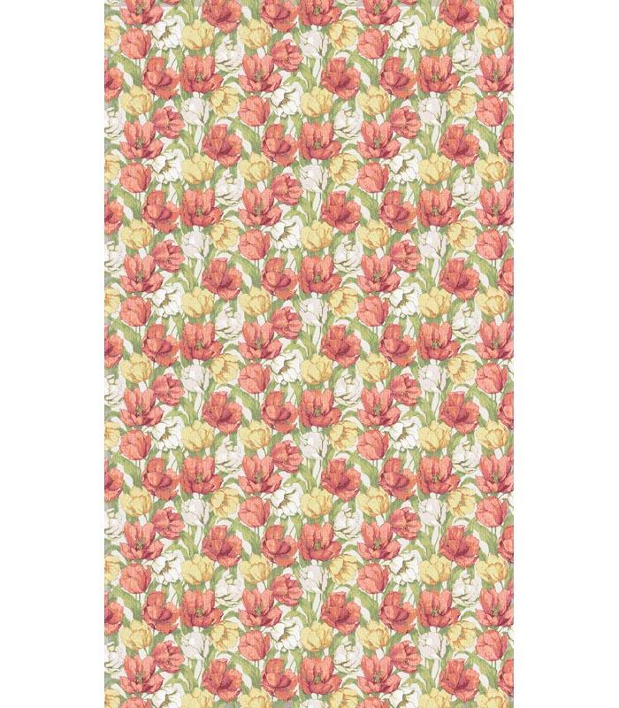 Duk 145 x 145 cm Blommande Tulpaner