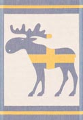 Handduk 35 x 50 cm Swedish Moose