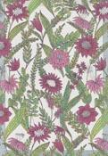 Handduk 35 x 50 cm Vintage Violet