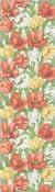 Löpare 35 x 80 cm Blommande Tulpaner