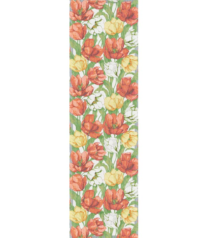 Löpare 35 x 120 cm Blommande Tulpaner
