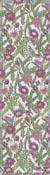 Löpare 35 x 80 cm Vintage Violet