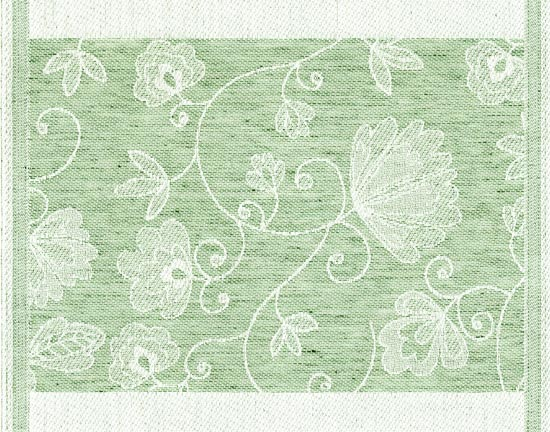 Diskduk Olivia 04 grön