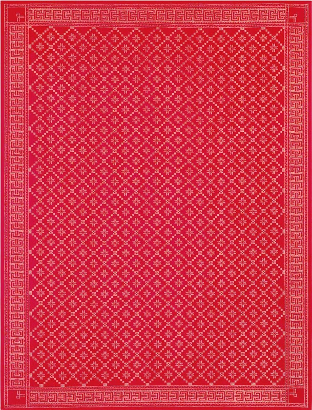 Duk 150 x 200 cm Åttebladrose 33