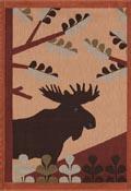 Handduk 48 x 70 cm Skogen*