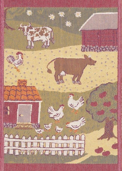 Handduk 48 x 70 cm Lantgård*