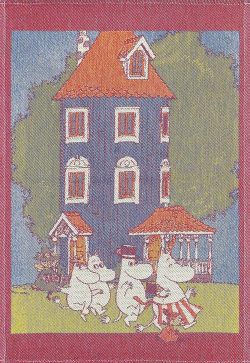 Handduk 35 x 50 cm Moomin House