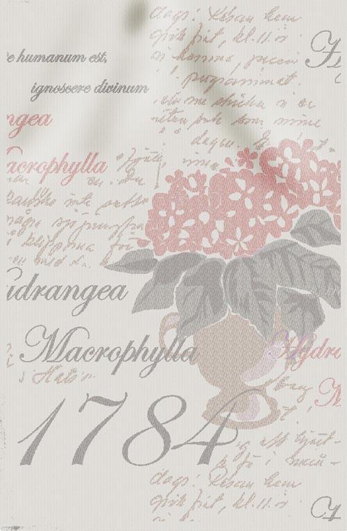 Handduk 48 x 70 cm Love Letter