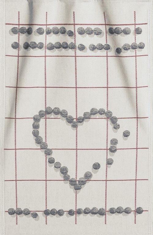 Handduk 35 x 50 cm Blåbärshjärta*