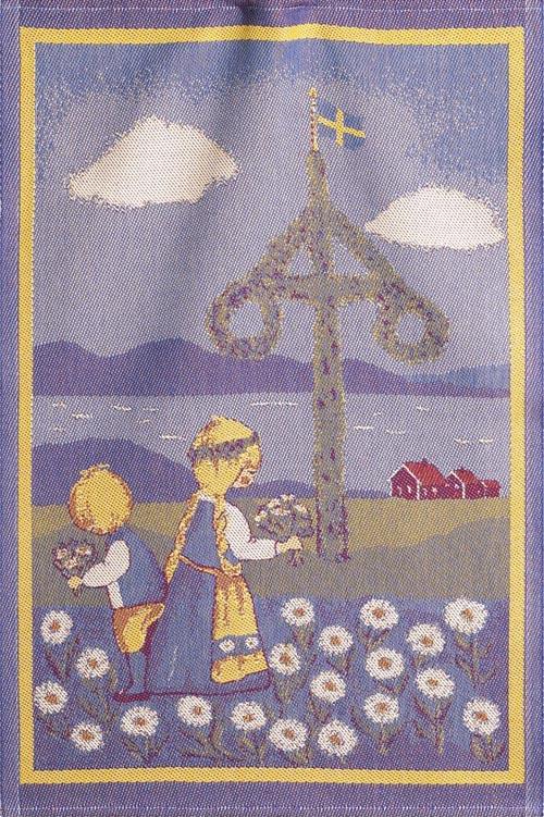 Handduk 35 x 50 cm Svensk sommar