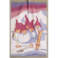 Handduk 48 x 70 cm Skiers*