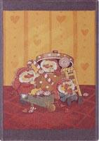 Handduk 48 x 70 cm Godisstund*