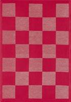 Handduk 35 x 50 cm Schack röd*