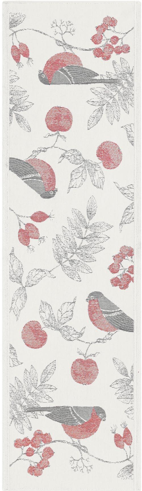 Bordslöpare 35 x 120 cm Vinterfågel