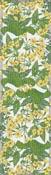 Löpare 35 x 120 cm Gul Primula