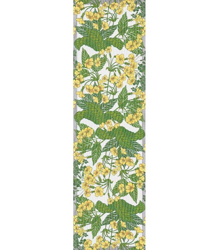 Löpare 35 x 120 cm Gul Primula*