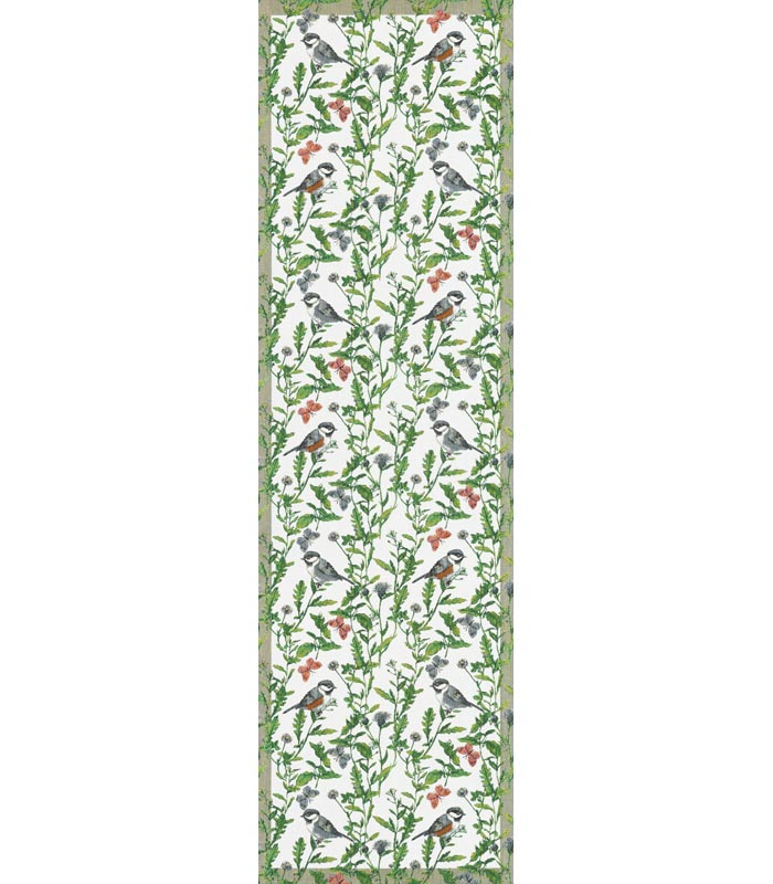 Löpare 35 x 120 cm Sommarfåglar