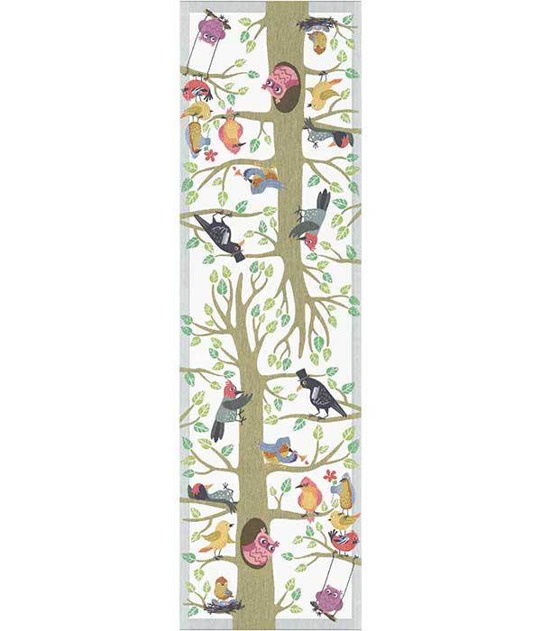 Löpare 35 x 120 cm Vårfåglar