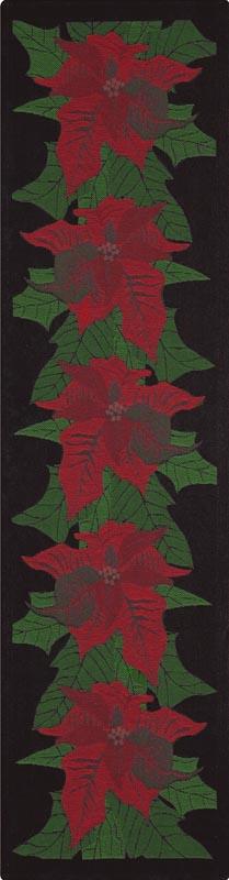 Bordslöpare 35 x 120 cm Lindas Julstjärna*