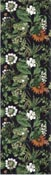 Löpare 35 x 120 cm Blomsterprakt