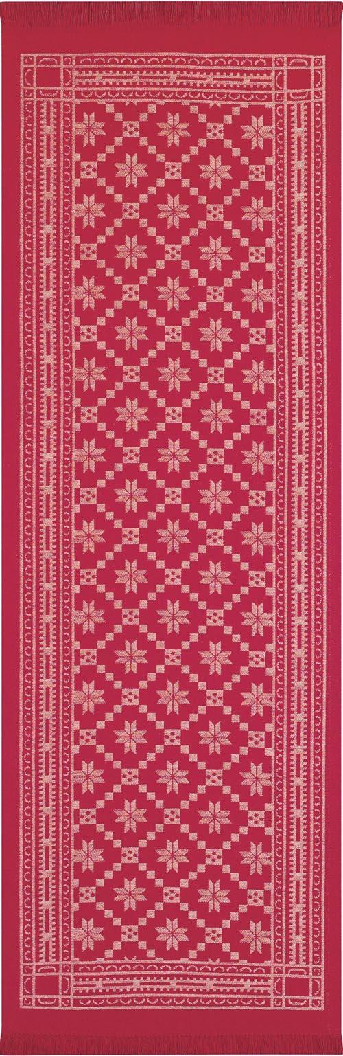 Bordslöpare 35 x 110 cm Åttebladrose 33