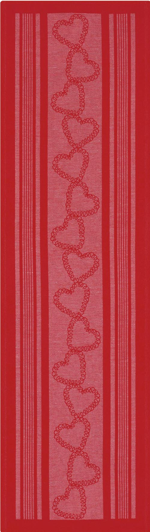 Bordslöpare 35 x 120 cm Röd jul*