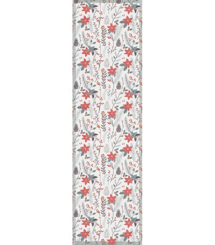 Bordslöpare 35 x 120 cm Rödäng*