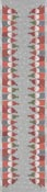 Bordslöpare 35 x 140 cm Tomtemöte