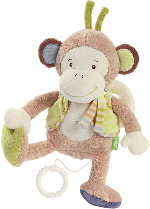 Fehn Speldosa Monkey Donkey Apa