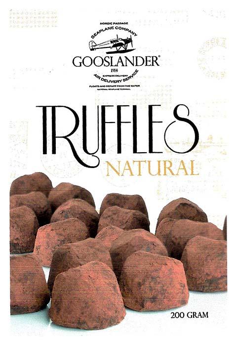 GOOSLANDER Tryffel Naturell 200 g